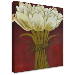 Bunch of Tulips by Stretched Canvas