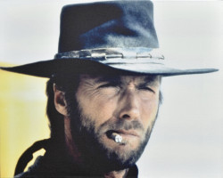 Clint Eastwood - High Plains Drifter (1973) by Stretched Canvas