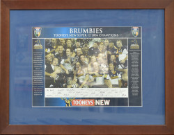 Brumbies - Tooheys New Super 12 2004 Champions
