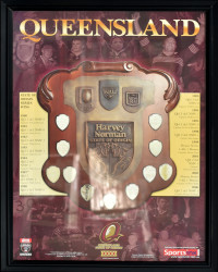 Queensland State of Origin Series Wins 1980 - 2006