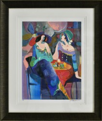 Pastel Gathering by Isaac Maimon