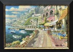 Dockside at Amalfi by Sam Park