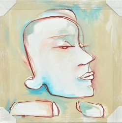 The Thinker by Kristy Holt - Stretched Canvas