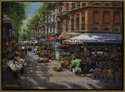 Barcelona Flower Market by Sam Park