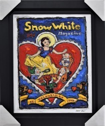 Snow White - Disney Original Framed by Leslie Lew