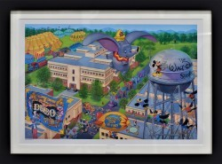 A Day at the Studio - Disney Frame Lim Ed by Manny Hernandez