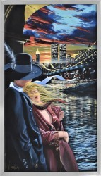 Farewell (Stretched Canvas and Framed) by Victor Ostrovsky