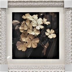 Floral Time I Framed Art by Steven N. Meyers
