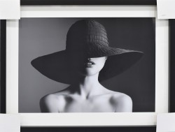 Beauty in a Black Hat by Yuriyzhuravov