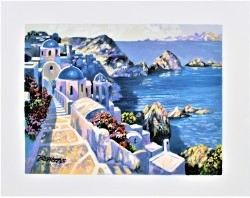 Santorini Afternoon by Howard Behrens