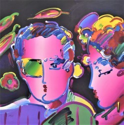 Zero in Love II by Peter Max