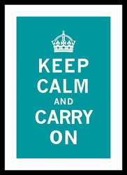 Keep Calm & Carry On by Vintage Collection
