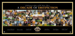 Decade of Distinction Wests Tigers 2000-2009 Limited Edition of 1000