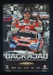 Jamie Whincup - Back to Back - 2008 2009 V8 Supercar Champion