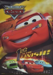 Disney - The World of Cars - 1st to the Finish