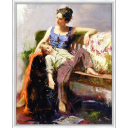 Afternoon Nap by Pino Daeni