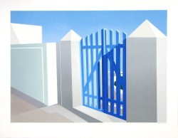Blue Gate by Elena Borstein