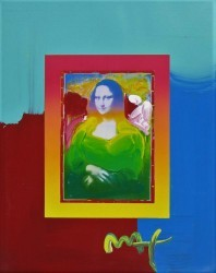 Mona Lisa on Blens by Peter Max