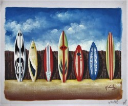 Surboards by Michael Varley