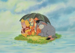 Pooh & Friends Under the Umbrella