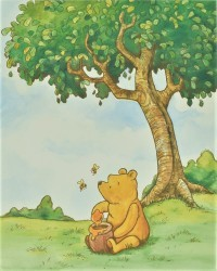 Pooh with the Bees