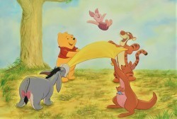 Pooh & Friends Blanket Tossing