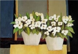 White Flowers II by Hans Paus
