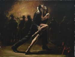 Tango by Fabian Perez - Stretched Canvas
