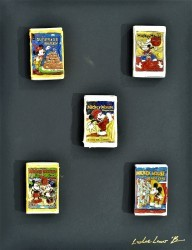 Mickey Assorted Matchbox by Leslie Lew