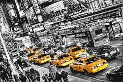 Cabs Queue by Michael Feldmann