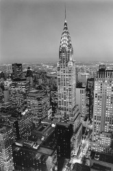 Chrysler Building by Henri Silberman
