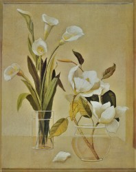 Magnolia & Calla Lilies by Hampton Hall
