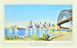 Sydney Harbour by Robert Wainwright