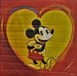 I Love Mickey by Simon Bull