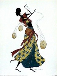 DANCING GOURDS by Augusta Asberry