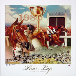 Phar Lap - Hero to a Nation by Brian Clinton