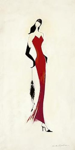 Lady In Red I