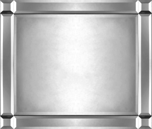 Quality Bevelled Edge Mirror Hang Horizontal or Vertical