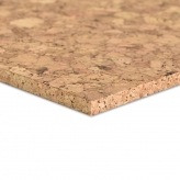 Chunky Cork Sheets at 91.5 x 61cm, 10mm thick in Autumn Colour