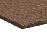 Chunky Cork Sheets at 91.5 x 61cm, 10mm thick in Charcoal Colour
