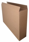 Cardboard Box MLG10 (Pack of 10)  Internal Measurements 60x10x80cm