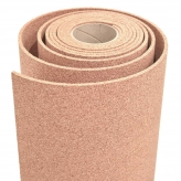 cork roll of 25 x 122 metres thickness 6mm