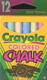 Crayola Colour Chalk Pack/12