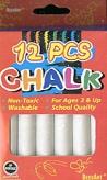 Beesart White Chalk Pack/12