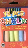 Beesart Colour Chalk Pack/12