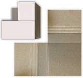 PROTECTIVE CARDBOARD CORNERS 10x10x4cm EACH   PACK OF 20 (To fit 5 Frames)