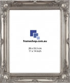 Ornate Silver to fit 11x14 inch (28x35.5cm) photo Outer Size 42x50cm
