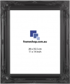 Ornate Black to fit 11x14 inch (28x35.5cm) photo Outer Size 42x50cm