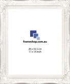 Ornate White to fit 11x14 inch (28x35.5cm) photo Outer Size 42x50cm
