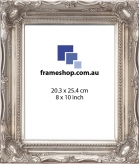 SOHO Silver to fit 8x10 inch (20.3x25.4cm) photo Outer Size 29x34cm